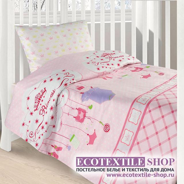 Детское постельное белье Ecotex Kids Сатин-комфорт 01