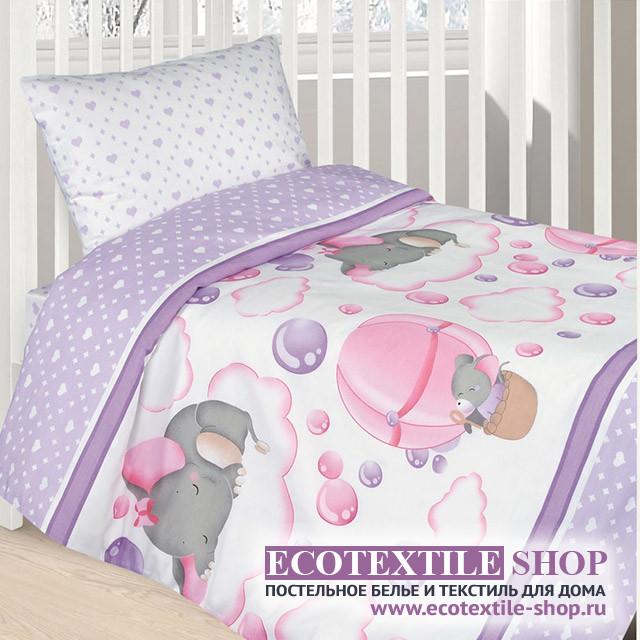 Детское постельное белье Ecotex Kids Сатин-комфорт 04