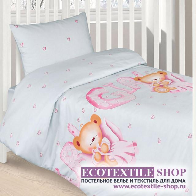 Детское постельное белье Ecotex Kids Сатин-комфорт 05