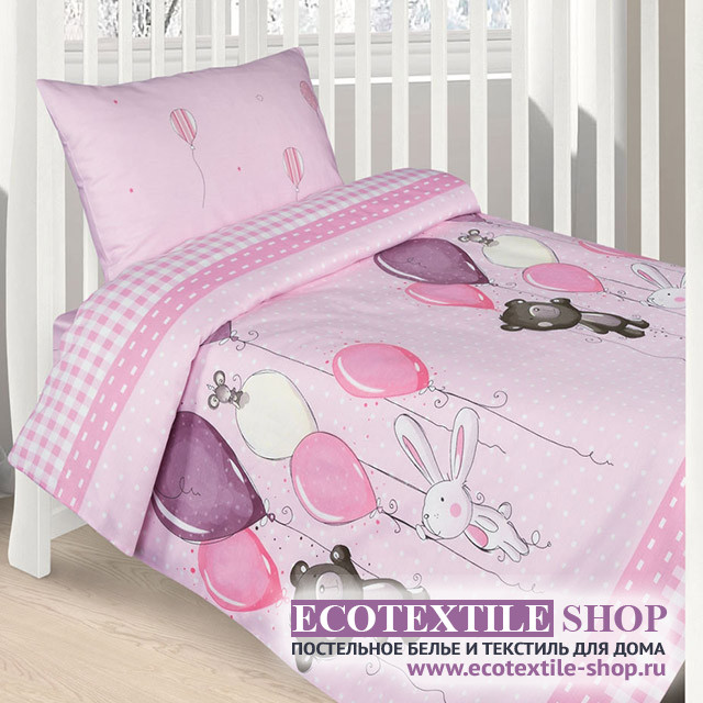 Детское постельное белье Ecotex Kids Сатин-комфорт 07