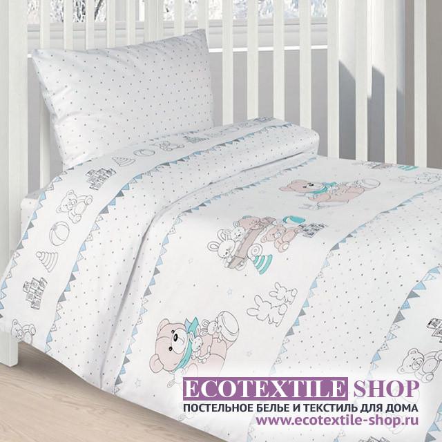 Детское постельное белье Ecotex Kids Сатин-комфорт 17