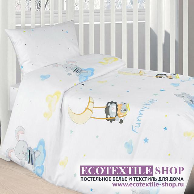 Детское постельное белье Ecotex Kids Сатин-комфорт 23