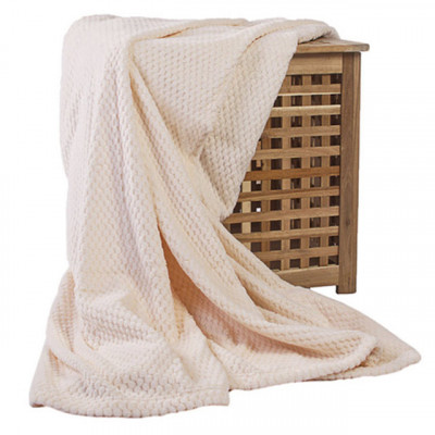 Плед Ecotex Elegance кремовый (размер 150х200 см)
