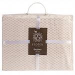 Плед Ecotex Elegance кремовый (размер 180х200 см)