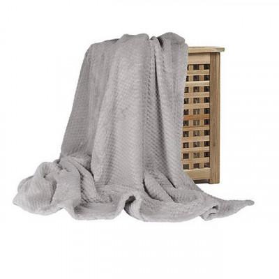 Плед Ecotex Elegance серый (размер 150х200 см)