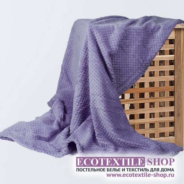 Плед Ecotex Elegance лавандовый  (размер 200х220 см)