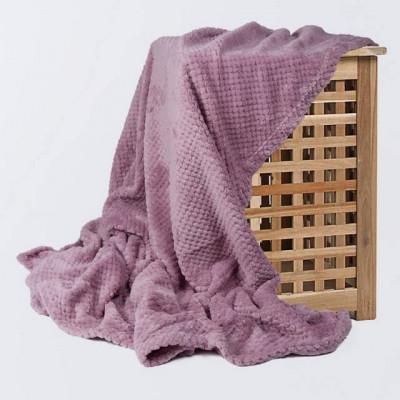 Плед Ecotex Elegance сиреневый (размер 150х200 см)
