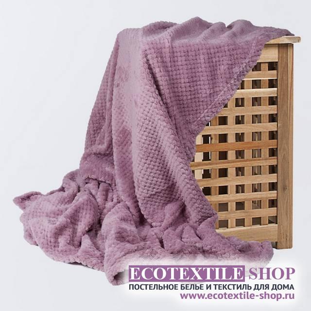 Плед Ecotex Elegance сиреневый  (размер 180х200 см)