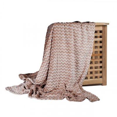 Плед Ecotex Modern коричневый (размер 180х200 см)