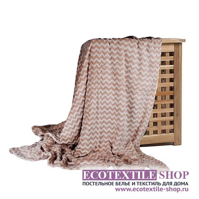 Плед Ecotex Modern коричневый (размер 150х200 см)