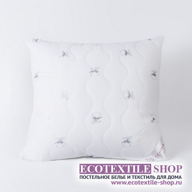 Подушка Ecotex Коттон (размер 70х70 см)