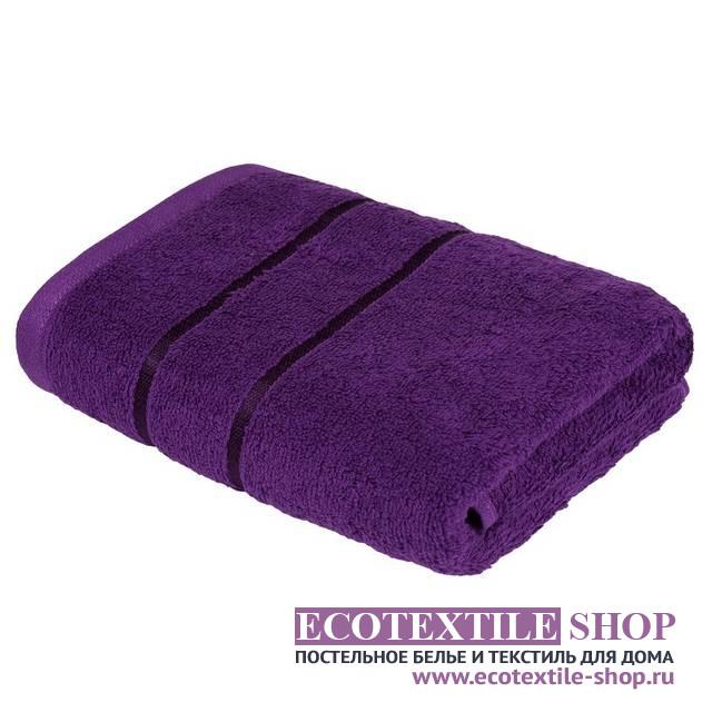 Полотенце Египетский Хлопок фиолетовый (размер 70х130 см)