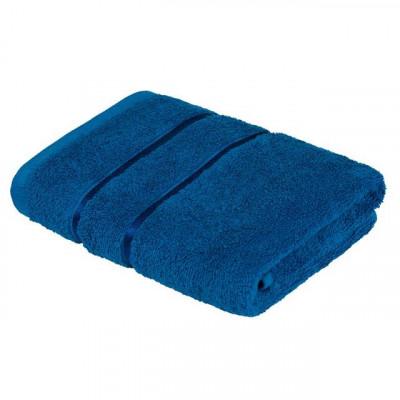 Полотенце Египетский Хлопок синий (размер 50х90 см)