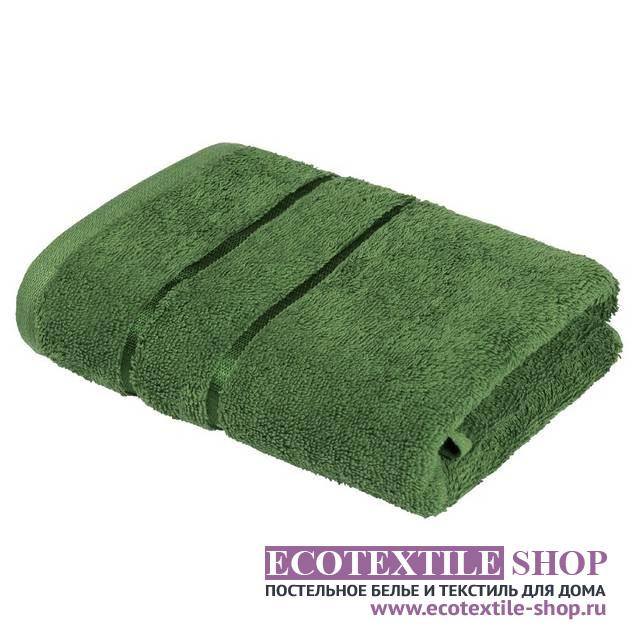 Полотенце Египетский Хлопок зеленый (размер 50х90 см)