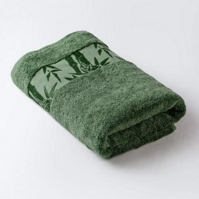 Полотенце Бамбук классик зеленый (размер 70х130 см)