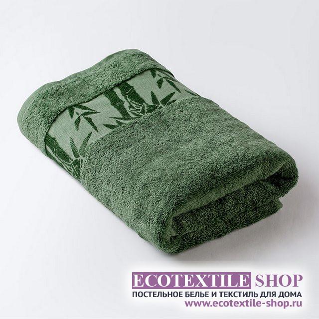 Полотенце Бамбук классик зеленый (размер 50х90 см)