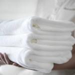 Полотенце Отель белый (размер 70х130 см)