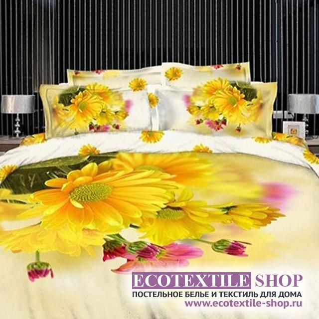 Постельное белье Ecotex 3Demica 3D-004 (размер Евро)