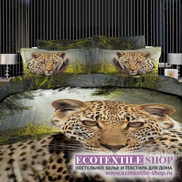 Постельное белье Ecotex 3Demica 3D-005 (размер 1,5-спальный)