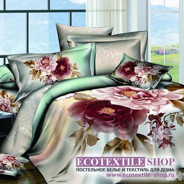 Постельное белье Ecotex 3Demica 3D-014 (размер 1,5-спальный)