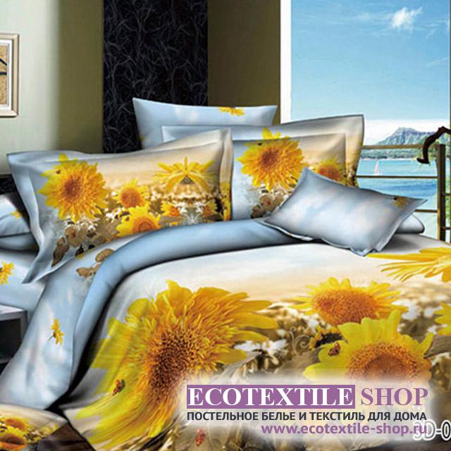 Постельное белье Ecotex 3Demica 3D-016 (размер Евро)