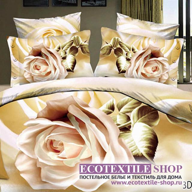 Постельное белье Ecotex 3Demica 3D-020 (размер Евро)