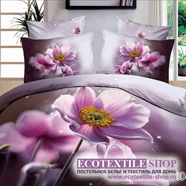 Постельное белье Ecotex 3Demica 3D-022 (размер Евро)