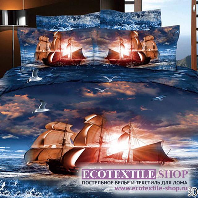 Постельное белье Ecotex 3Demica 3D-025 (размер 2-спальный)