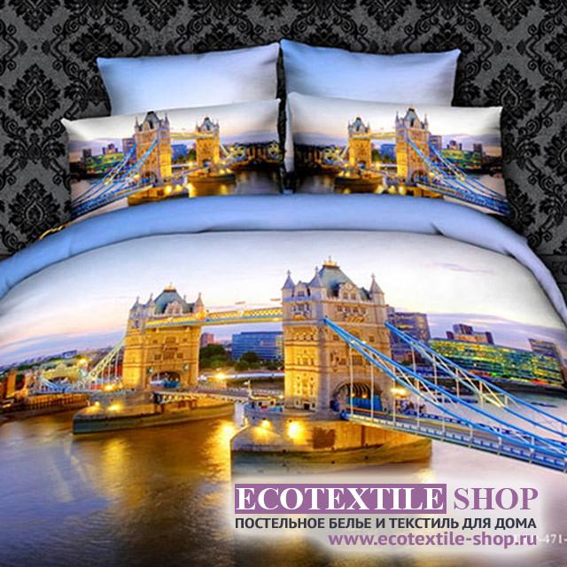 Постельное белье Ecotex 3Demica 3D-036 (размер 1,5-спальный)