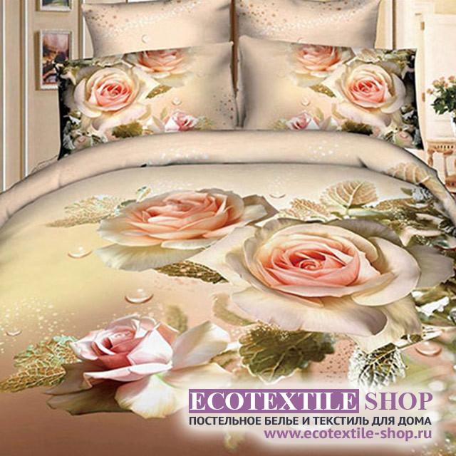 Постельное белье Ecotex 3Demica 3D-065 (размер Семейный)