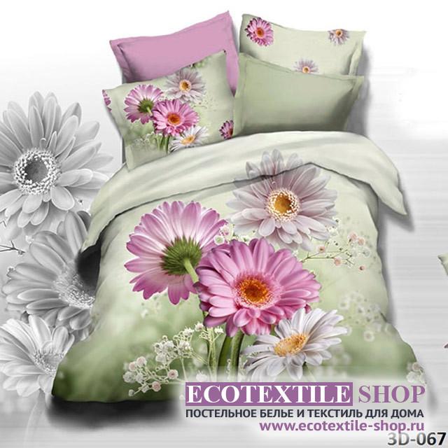 Постельное белье Ecotex 3Demica 3D-067 (размер 1,5-спальный)