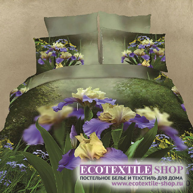 Постельное белье Ecotex 3Demica 3D-070 (размер Семейный)