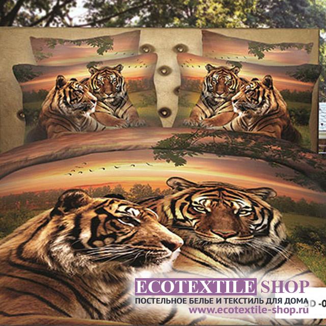 Постельное белье Ecotex 3Demica 3D-078 (размер Семейный)