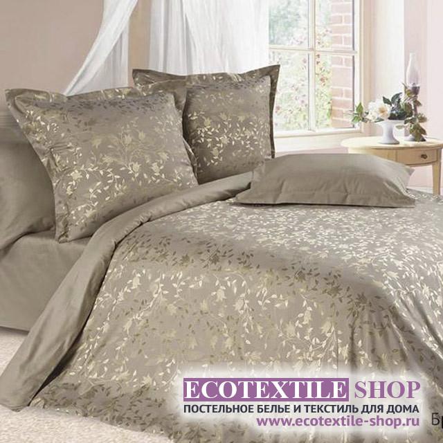 Постельное белье Ecotex Estetica Брианза в чемодане (размер 2-спальный)