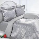 Постельное белье Ecotex Estetica Миледи в чемодане (размер Семейный)