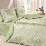 Постельное белье Ecotex Estetica Оливия в чемодане (размер 1,5-спальный)