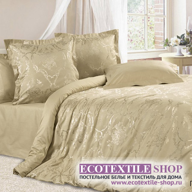 Постельное белье Ecotex Estetica Пастораль в чемодане (размер 1,5-спальный)