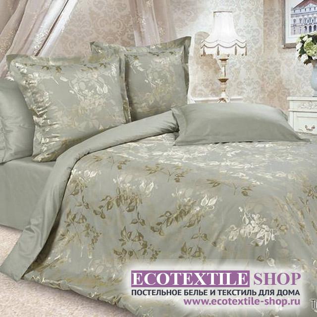 Постельное белье Ecotex Estetica Тюильри в чемодане (размер Семейный)