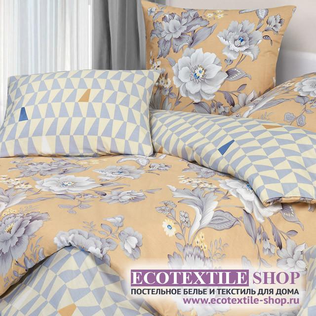 Постельное белье Ecotex Harmonica Белый шиповник (размер 2-спальный)