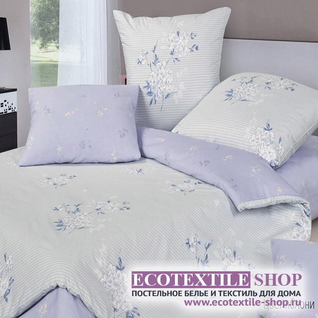 Постельное белье Ecotex Harmonica Цвет яблони (размер 1,5-спальный)
