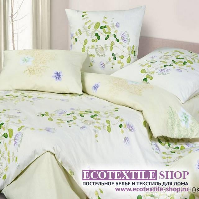 Постельное белье Ecotex Harmonica Цветочный ноктюрн (размер евро)