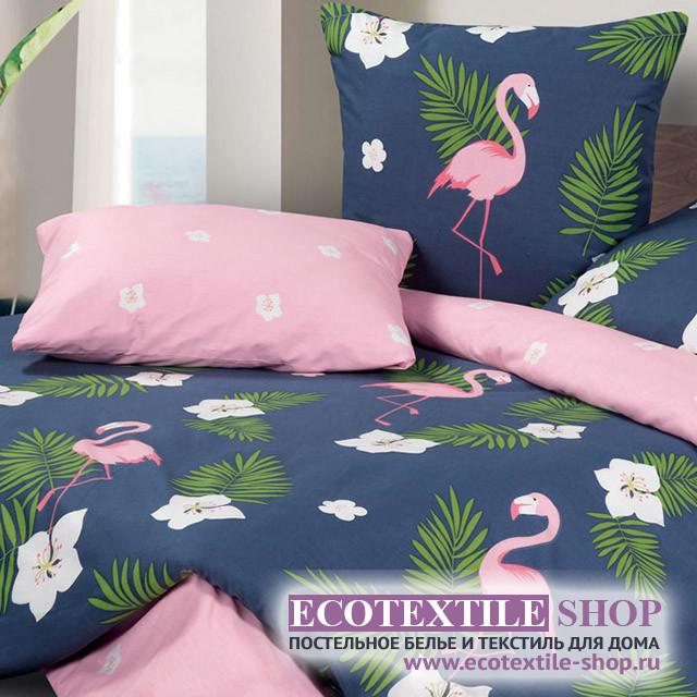 Постельное белье Ecotex Harmonica Фламинго (размер евро)