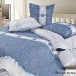 Постельное белье Ecotex Harmonica Морская волна (размер 2-спальный)