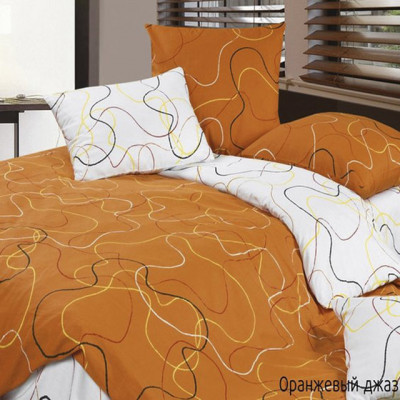 Ecotex Harmonica Оранжевый джаз (размер 1,5-спальный)