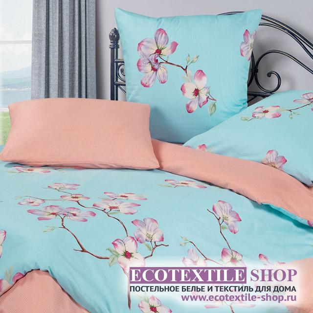 Постельное белье Ecotex Harmonica Сакура (размер 1,5-спальный)