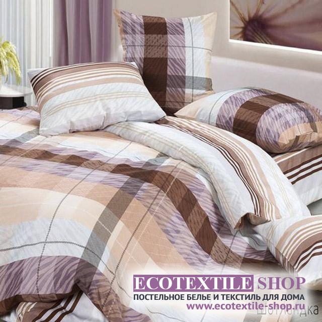 Постельное белье Ecotex Harmonica Шотландка (размер евро)