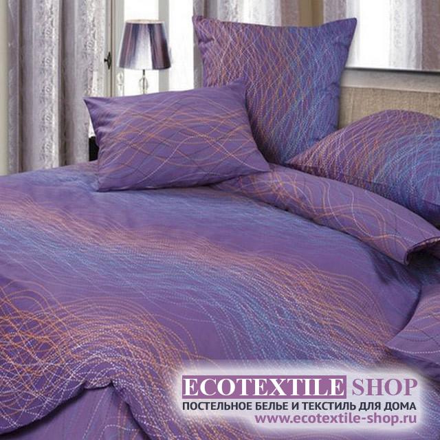 Постельное белье Ecotex Harmonica Волна (размер семейный)