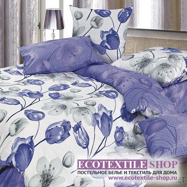 Постельное белье Ecotex Harmonica Яблоневый цвет (размер 1,5-спальный)