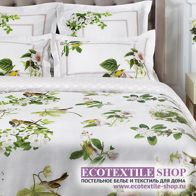 Постельное белье Ecotex Novellica Эдем (размер 2-спальный)