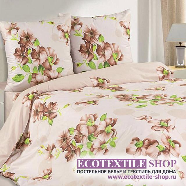 Постельное белье Ecotex Poetica Агата на резинке (размер 2-спальный)